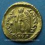 Monnaies Empire byzantin. Anastase (491-518). Solidus. Constantinople, 8e officine, 498-518