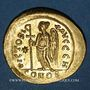 Monnaies Empire byzantin. Anastase (491-518). Solidus. Constantinople, 8e officine (498-518)