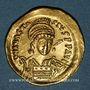 Monnaies Empire byzantin. Anastase (491-518). Solidus. Constantinople, 9e officine, 498-518
