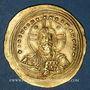 Monnaies Empire byzantin. Basile II avec son frère Constantin VIII (976-1025). Nomisma histaménon, 1005-1025