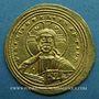 Monnaies Empire byzantin. Basile II avec son frère Constantin VIII (976-1025). Nomisma histaménon