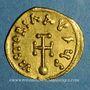 Monnaies Empire byzantin. Constant II (641-668). Semissis. Constantinople, 641-668