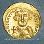 Monnaies Empire byzantin. Constant II (641-668). Solidus. Constantinople, 2e officine. 650-651