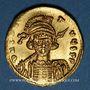 Monnaies Empire byzantin. Constantin IV (654-685). Solidus. Constantinople, 1ère officine, 674-681