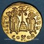 Monnaies Empire byzantin. Constantin IV (654-685). Solidus. Constantinople, 8e officine, 674-681