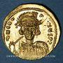 Monnaies Empire byzantin. Constantin IV avec ses frères Héraclius et Tibère (668-681). Solidus Constantinople
