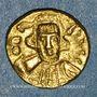 Monnaies Empire byzantin. Constantin IV et ses frères Héraclius et Tibère (668-681). Solidus. Carthage