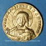 Monnaies Empire byzantin. Constantin VII avec son fils Romain II (945-959). Solidus. Constantinople, 945-959