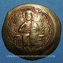 Monnaies Empire byzantin. Constantin X (1059-1067). Nomisma histaménon, Constantinople, 1059-1067