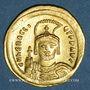 Monnaies Empire byzantin. Héraclius (610-641). Solidus. Constantinople, 3e officine, 610-613