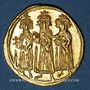 Monnaies Empire byzantin. Héraclius, Héraclius Constantin et Héracleonas (632-641) Solidus. Constantinople