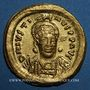 Monnaies Empire byzantin. Justin I (518-527). Solidus. Constantinople, 7e officine (519-527)