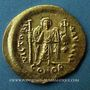 Monnaies Empire byzantin. Justinien I (527-565). Solidus. Constantinople, 10e officine, 527-538