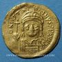 Monnaies Empire byzantin. Justinien I (527-565). Solidus. Constantinople, 4e officine, 545-565