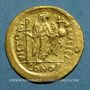 Monnaies Empire byzantin. Justinien I (527-565). Solidus. Constantinople, 4e officine. 545-565