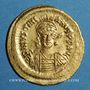 Monnaies Empire byzantin. Justinien I (527-565). Solidus. Constantinople, 6e officine, 527-538