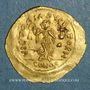 Monnaies Empire byzantin. Justinien I (527-565). Trémissis. Constantinople, 527-565
