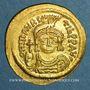 Monnaies Empire byzantin. Maurice Tibère (582-602). Solidus. Constantinople, 1ère officine. 583-601