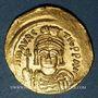 Monnaies Empire byzantin. Maurice Tibère (582-602). Solidus. Constantinople, 2e officine, 583-601