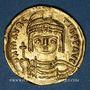 Monnaies Empire byzantin. Maurice Tibère (582-602). Solidus. Constantinople, 9e officine, 583-601
