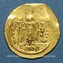 Monnaies Empire byzantin. Maurice Tibère (582-602). Solidus de 23 siliques. Constantinople, 583/601