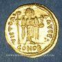 Monnaies Empire byzantin. Maurice Tibère (582-602). Solidus. Théoupolis (Antioche), 3e officine, 582-602