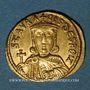 Monnaies Empire byzantin. Nicéphore I (803-811) et son fils Stauracius. Solidus. Constatinople, 803-811