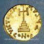 Monnaies Empire byzantin. Philippicus Bardanès (711-713). Solidus. Constantinople, 7e officine (711-713)