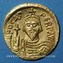 Monnaies Empire byzantin. Phocas (602-610). Solidus. Constantinople, 10e officine, 603-607