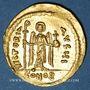 Monnaies Empire byzantin. Phocas (602-610). Solidus. Constantinople, 10e officine, (607-610)