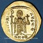 Monnaies Empire byzantin. Phocas (602-610). Solidus. Constantinople, 5e officine, 607-610