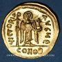 Monnaies Empire byzantin. Phocas (602-610). Solidus. Constantinople, 5e officine (607-610)