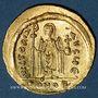 Monnaies Empire byzantin. Phocas (602-610) Solidus. Constantinople, 5e officine (607-610)