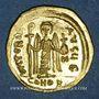Monnaies Empire byzantin. Phocas (602-610). Solidus. Constantinople, 5e officine, (607-610)