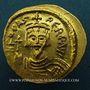 Monnaies Empire byzantin. Phocas (602-610). Solidus. Constantinople, 5e officine