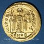 Monnaies Empire byzantin. Phocas (602-610). Solidus. Constantinople, 6e officine, 603-607