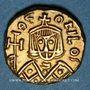Monnaies Empire byzantin. Théophile (829-849). Solidus. Syracuse, 831-842