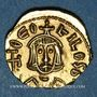 Monnaies Empire byzantin. Théophile (829-849). Trémissis. Syracuse, 829-830