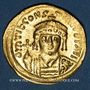 Monnaies Empire byzantin. Tibère II Constantin (578-582). Solidus. Constantinople, 4e officine, 579-582