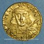 Monnaies Empire byzantin. Tibère III Apsimar (698-705). Solidus. Constantinople, 4e officine, 698-705