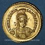 Monnaies Empire romain d'Occident. Valentinien III (425-455). Solidus. Constantinople, 2e officine, 426