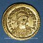 Monnaies Empire romain d'orient. Léon I (457-474). Solidus. Constantinople, 2e officine, 457-468