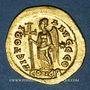 Monnaies Empire romain d'Orient. Marcien (450-457). Solidus. Constantinople, 9e officine, 450-457