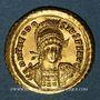 Monnaies Empire romain d'Orient. Théodose II (408-450). Solidus. Constantinople, 426-430