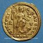Monnaies Honorius (393-423). Solidus. Ravenne, 402-406