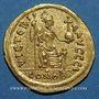 Monnaies Justin II (565-578). Solidus. Carthage, 565-578. Indiction 10 en fin de légende
