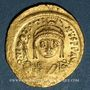 Monnaies Justin II (565-578). Solidus. Constantinople, 3e officine, 565-578