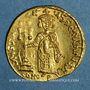 Monnaies Justinien II (685-695). Solidus. Constantinople