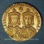 Monnaies Léon IV avec son fils Constantin VI. Solidus, Constantinople, 776-778