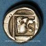 Monnaies Lesbos. Mytilène. Hecté (= 1/6 de statère), 454-428 av. J-C